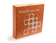Puzzle WIne Rack box